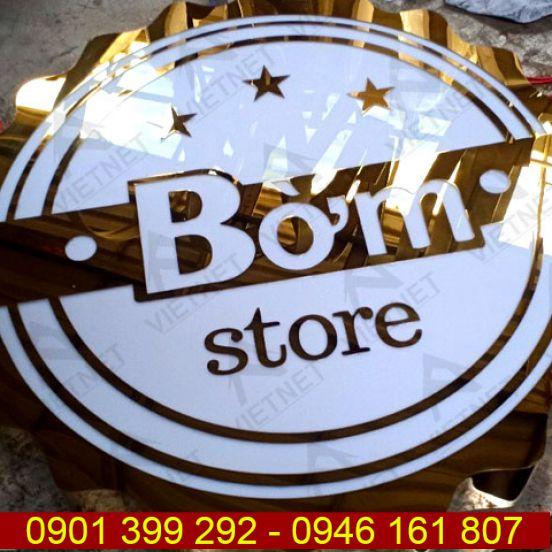 Biển vẫy quảng cáo Shop thời trang Bờm Store