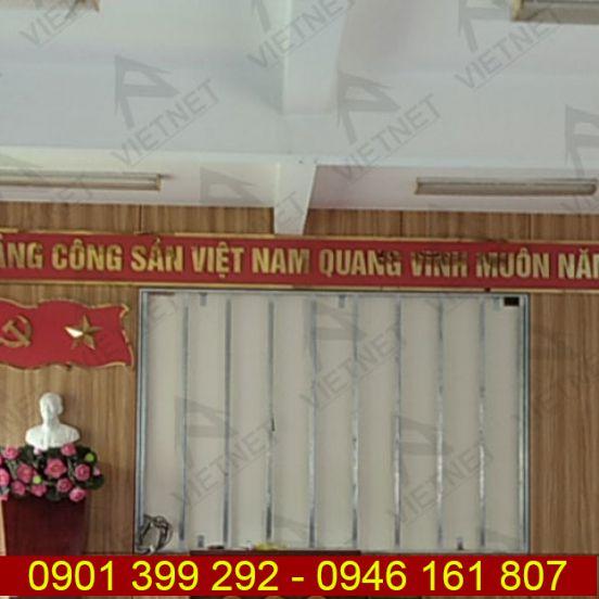 Chữ inox vàng gương Đảng Cộng Sản Việt Nam