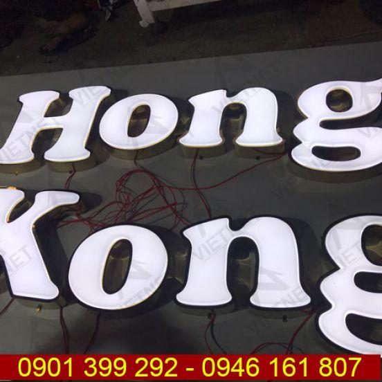 Chữ mica hút nổi Hồng Kông
